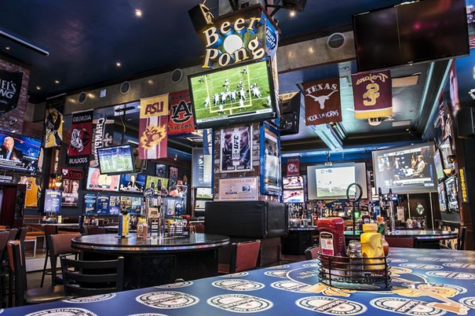 Where to watch sports in Las Vegas