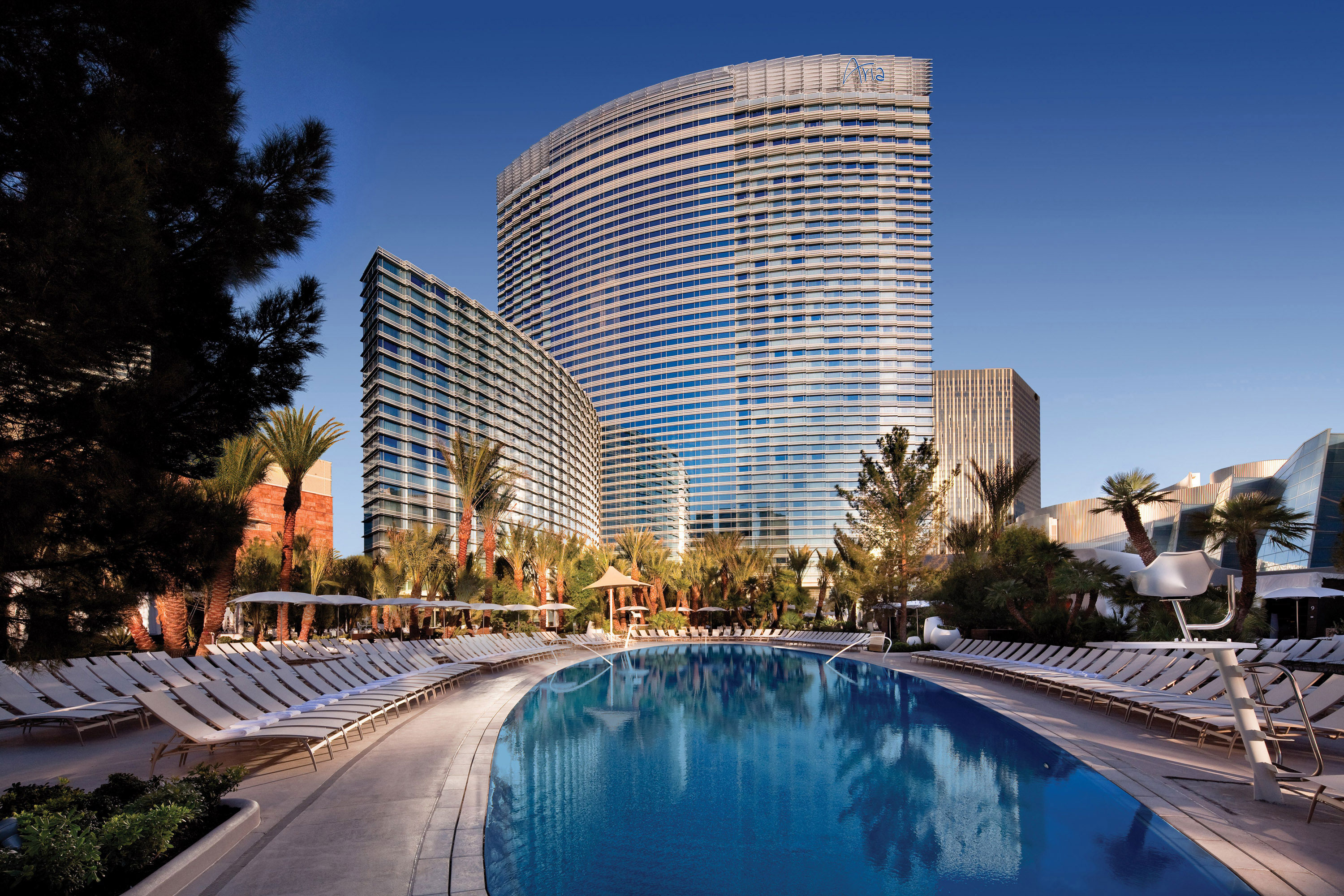 Hotels Around Aria Las Vegas