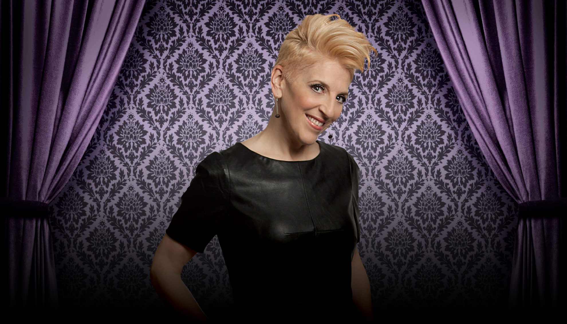 "The ""Queen of Mean,"" Lisa Lampanelli performs at the Venetian, photo courtesy of Vegas.com"
