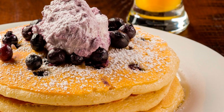 Pancakes at the Northside Cafe, photo courtesy of SLS Las Vegas