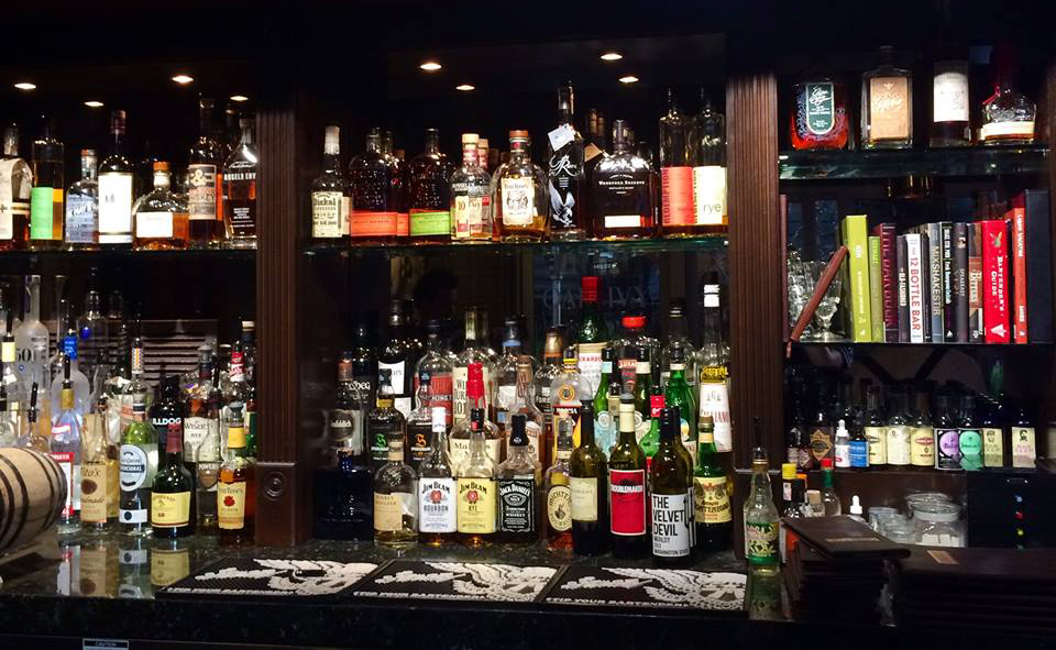 We see you there, whiskies. You shall be ours. Photo courtesy of Oak & Ivy.