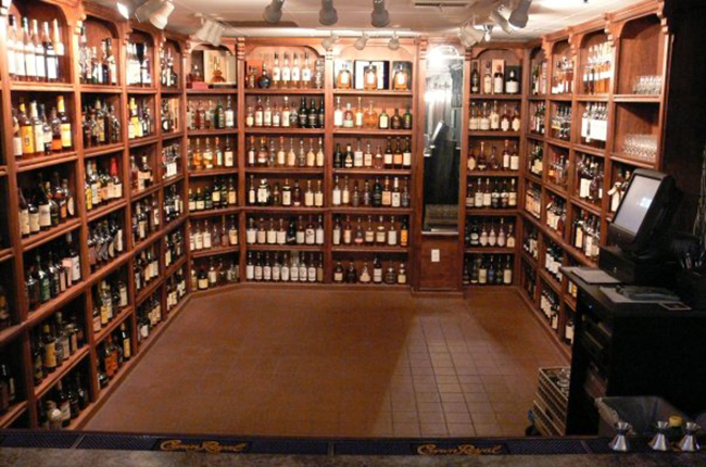 And it's so well lit too. Photo courtesy of the Whisky Attic.