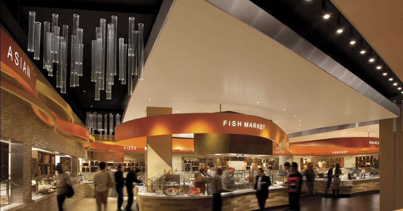 The Aria Buffet went through 98,719 pounds of crab legs last year, photo courtesy of Aria