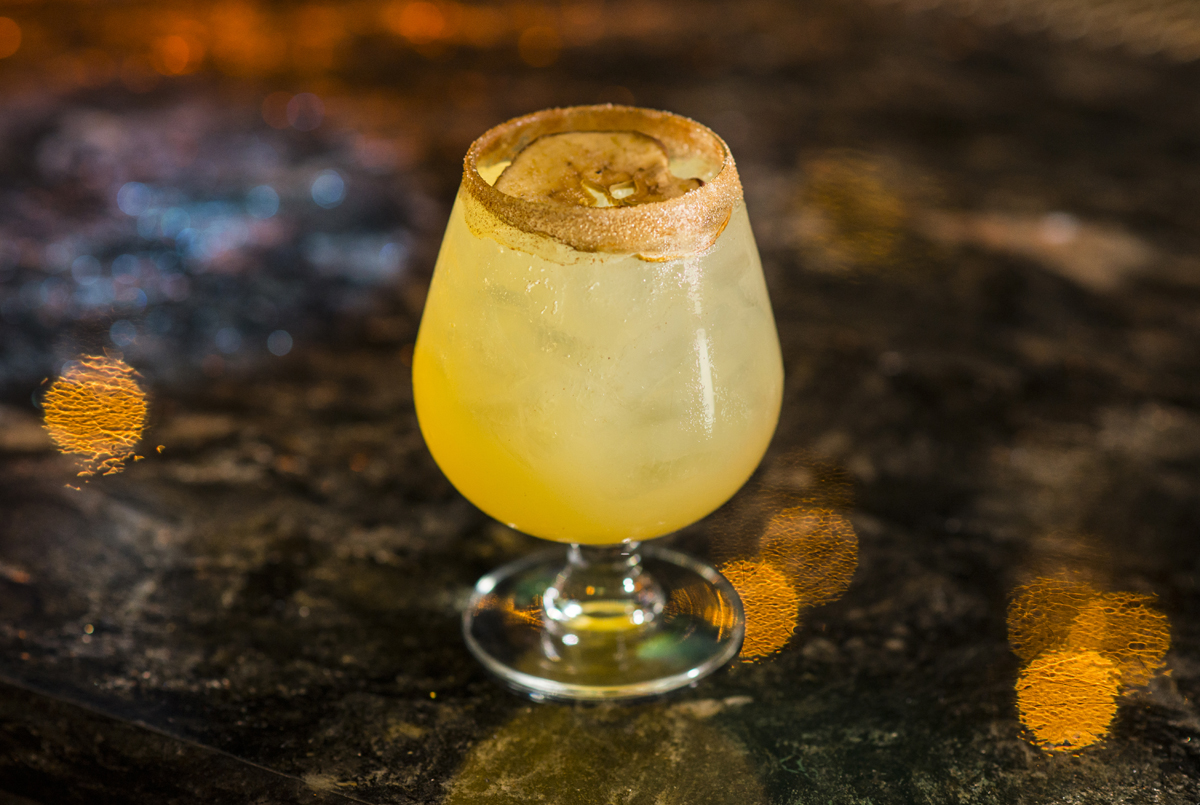 Apple Margarita is more like an apple margarit-yum. Photo courtesy of Lily Bar and Aaron Garcia.