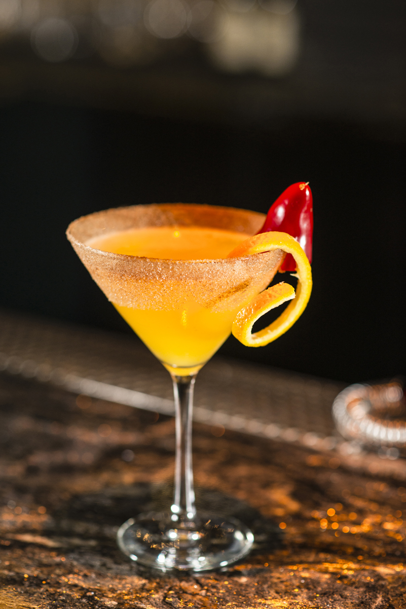 Heat of the Moment, shown in our yums. Photo courtesy of Lily Bar and Aaron Garcia.