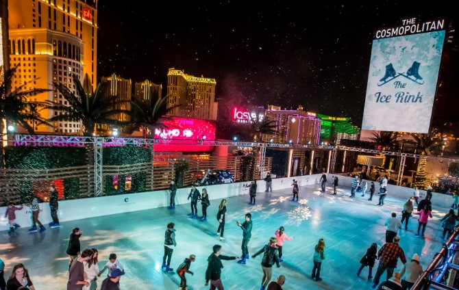 Save the date: The Cosmopolitan of Las Vegas Ice Rink returns