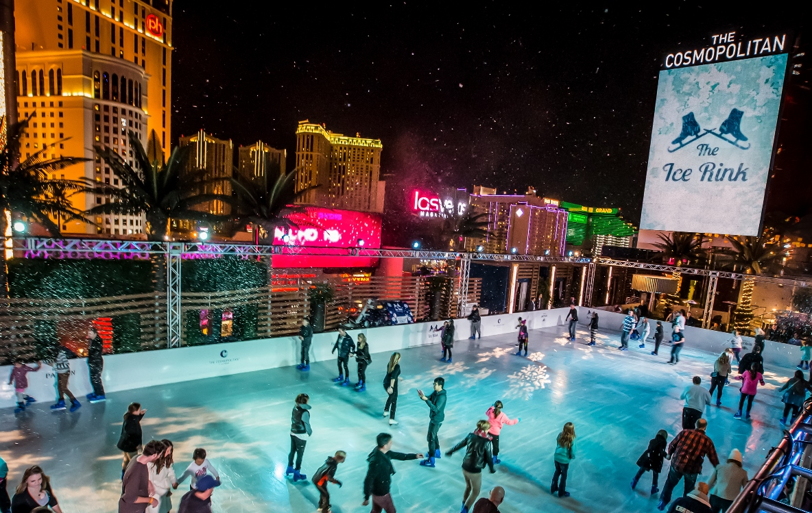 It's the most wonderful time of the year. Photo courtesy of The Cosmopolitan of Las Vegas.