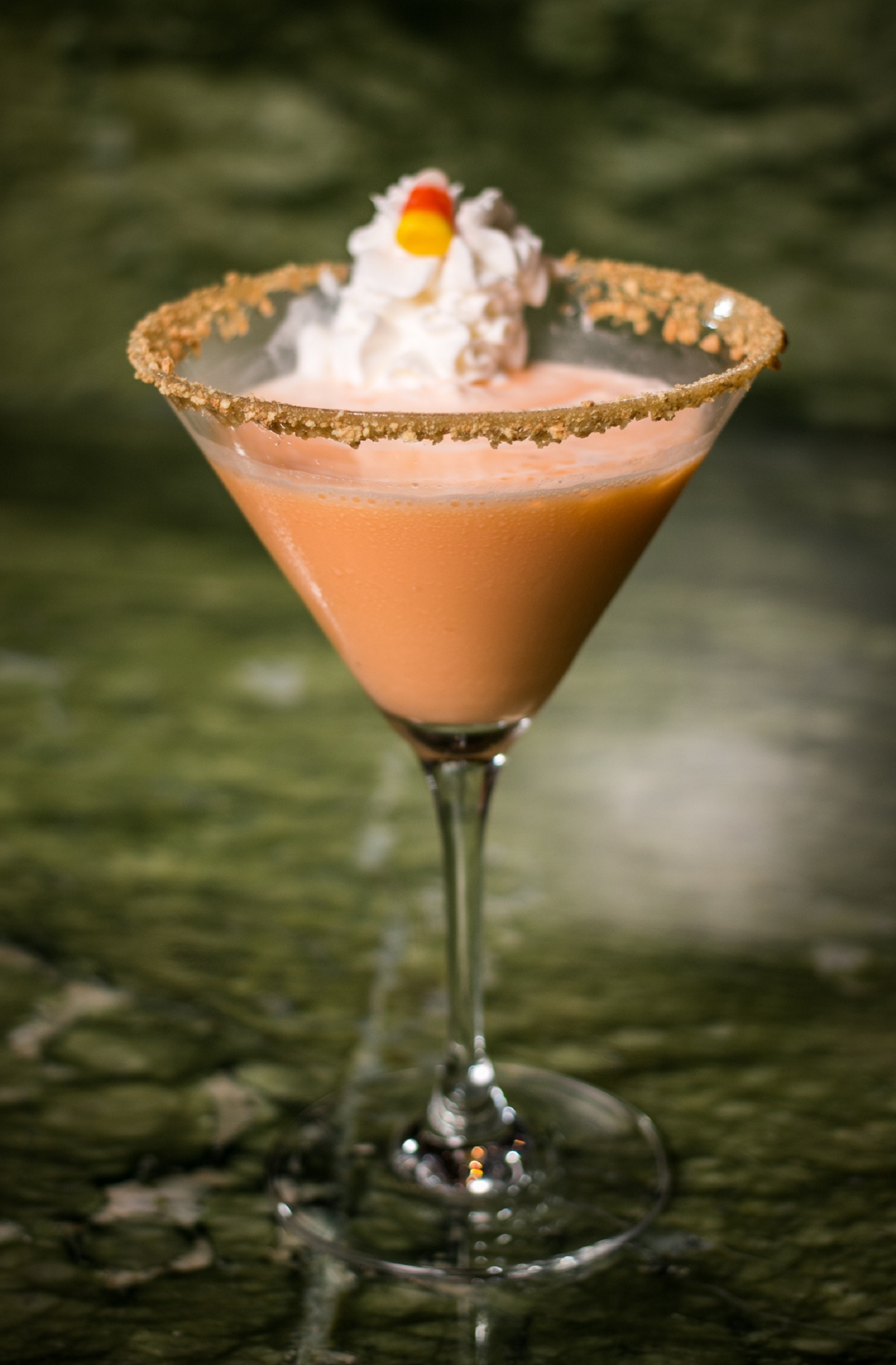 Pumpkin Spice Martini is a pumpkin spice mar-ten in our books. #PSM Photo courtesy of Aliente.
