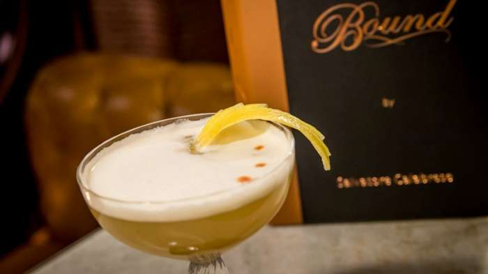 The best Martini you'll ever have for breakfast. Photo courtesy of Bound and the Cromwell.