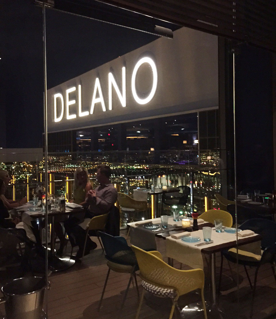 Rivea Restaurant And Skyfall Lounge Open Atop The Delano | Las Vegas Blogs
