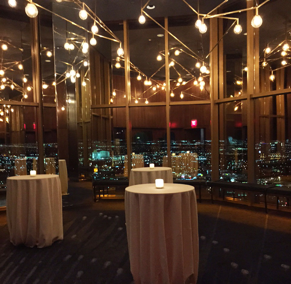 rivea restaurant and skyfall lounge open atop the delano - Las Vegas Restaurants With Private Dining Rooms