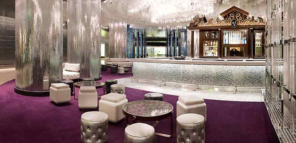 One of the most beautiful places to get any drink. Photo courtesy of the Cosmopolitan of Las Vegas.
