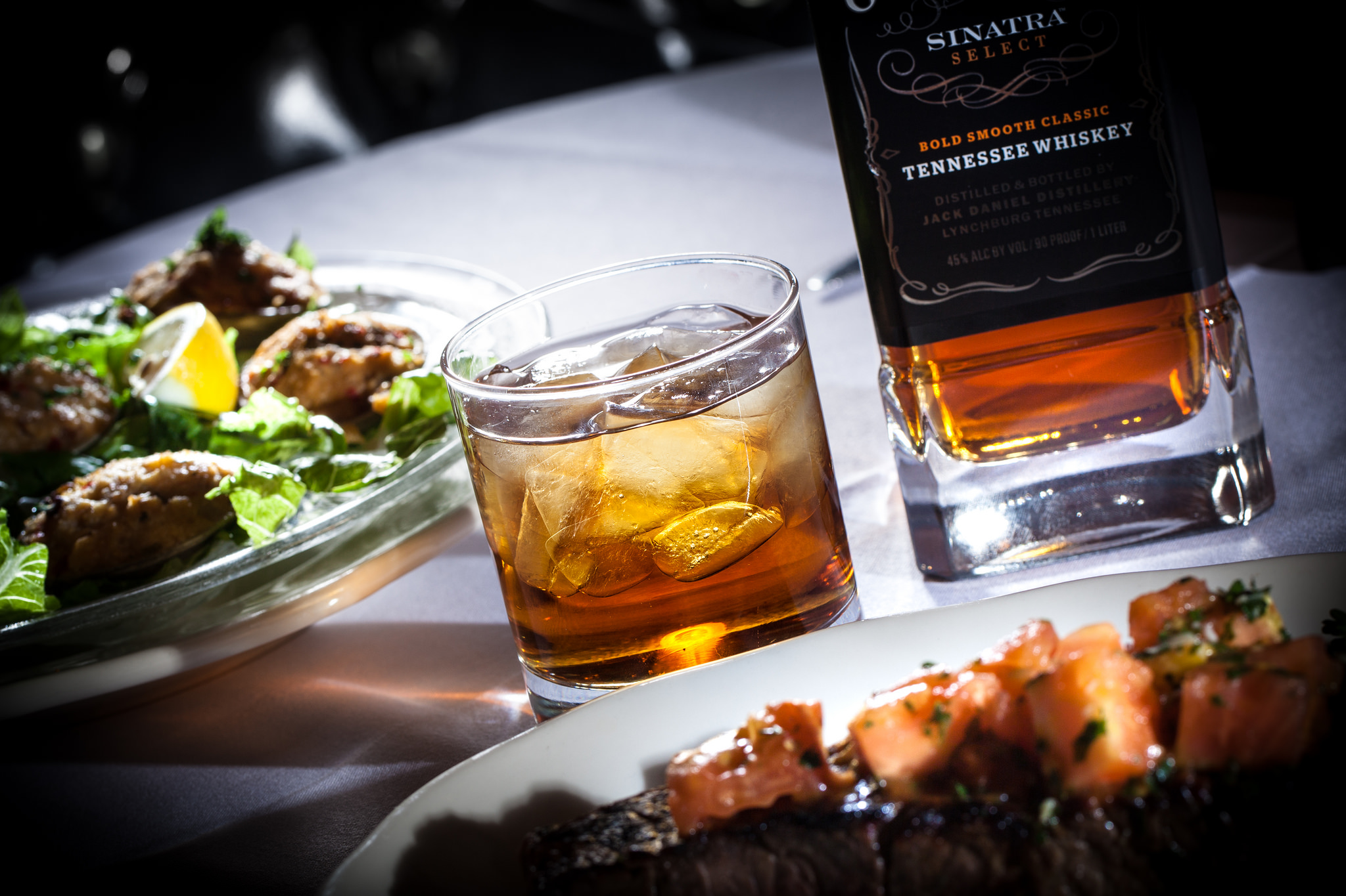 Clams casino, New York strip and Jack Daniels will be part of Frank's Menu at the Golden Steer, photo courtesy of Vox Solid Communications