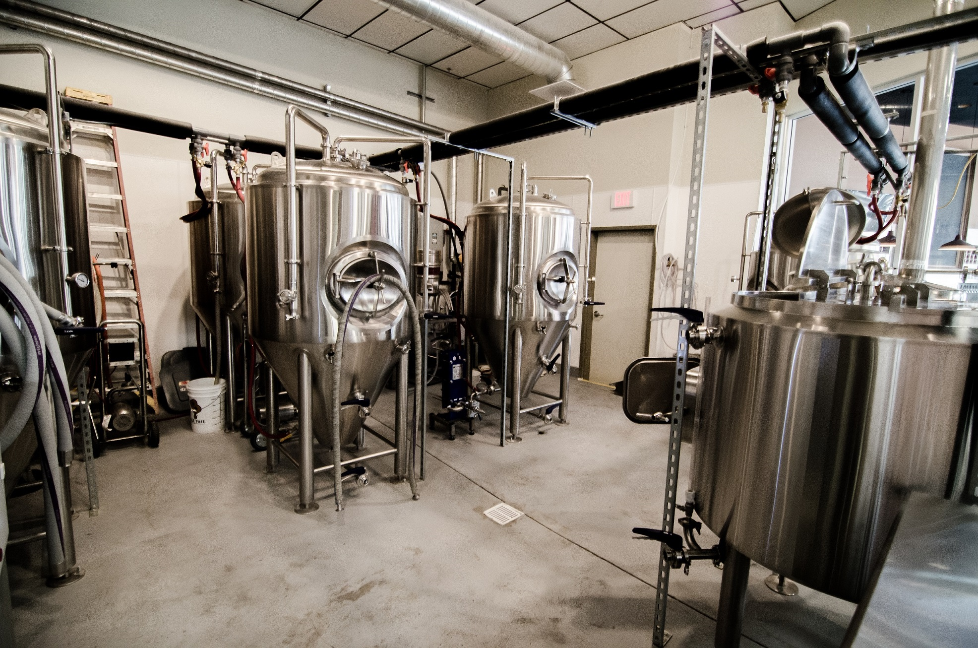 This is the exciting world of craft brewing. It's a banging good time. Photo courtesy of Banger Brewing.