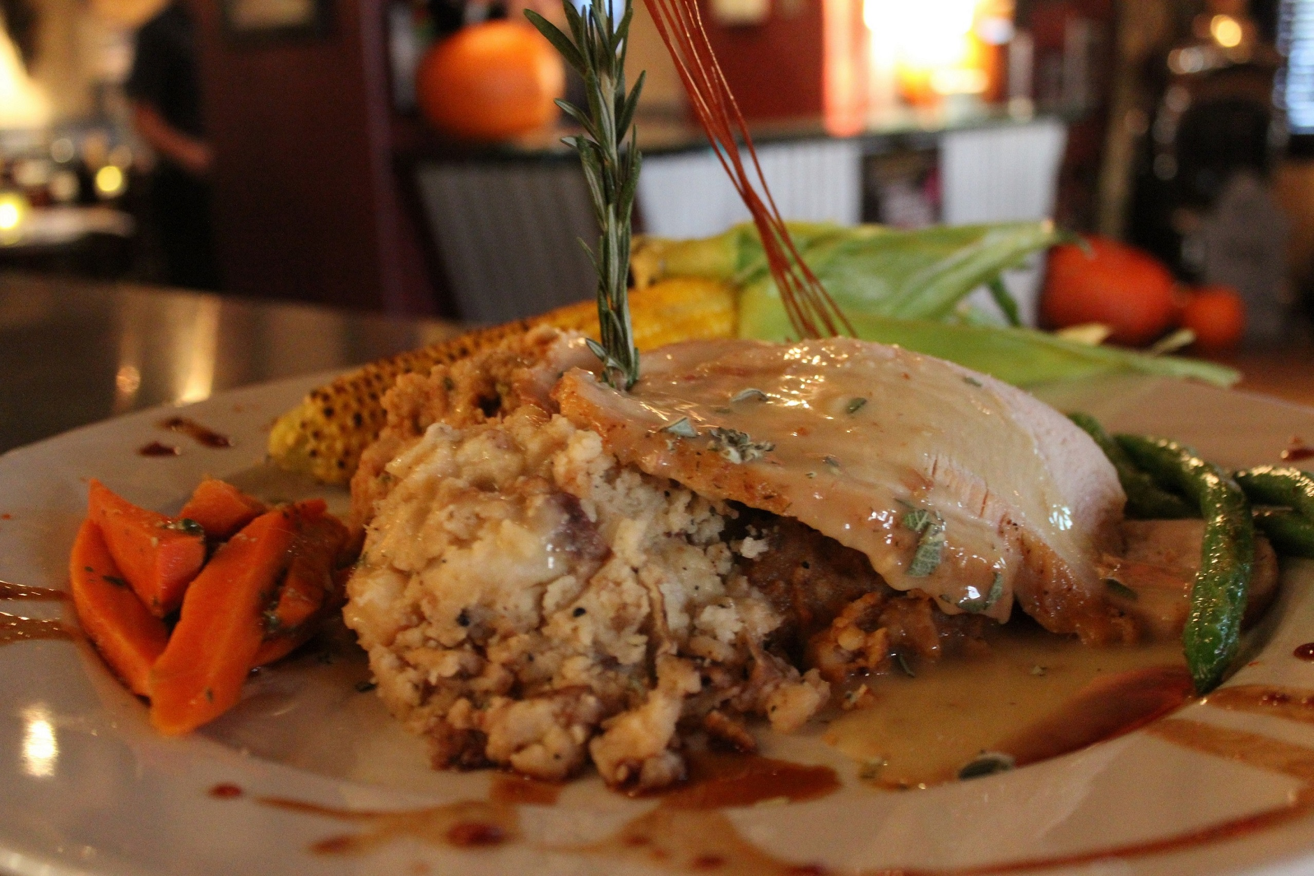The roast turkey breast dinner, photo courtesy of Hash House A Go Go