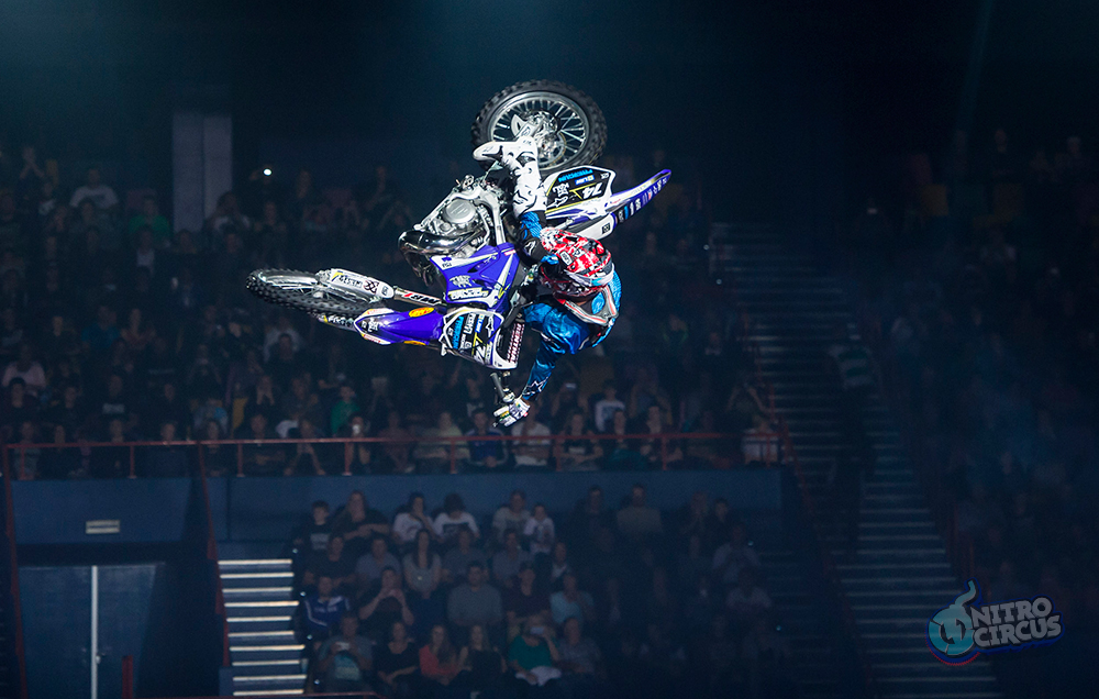 Watch the best in extreme sports at Nitro Circus Live, photo courtesy of Nitro Circus