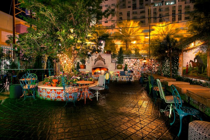 Fave places for al fresco drinking in Vegas