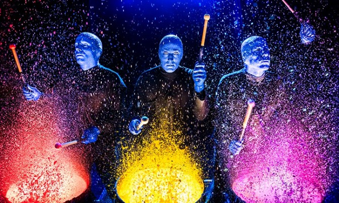 Blue Man Group unveils new Luxor theater