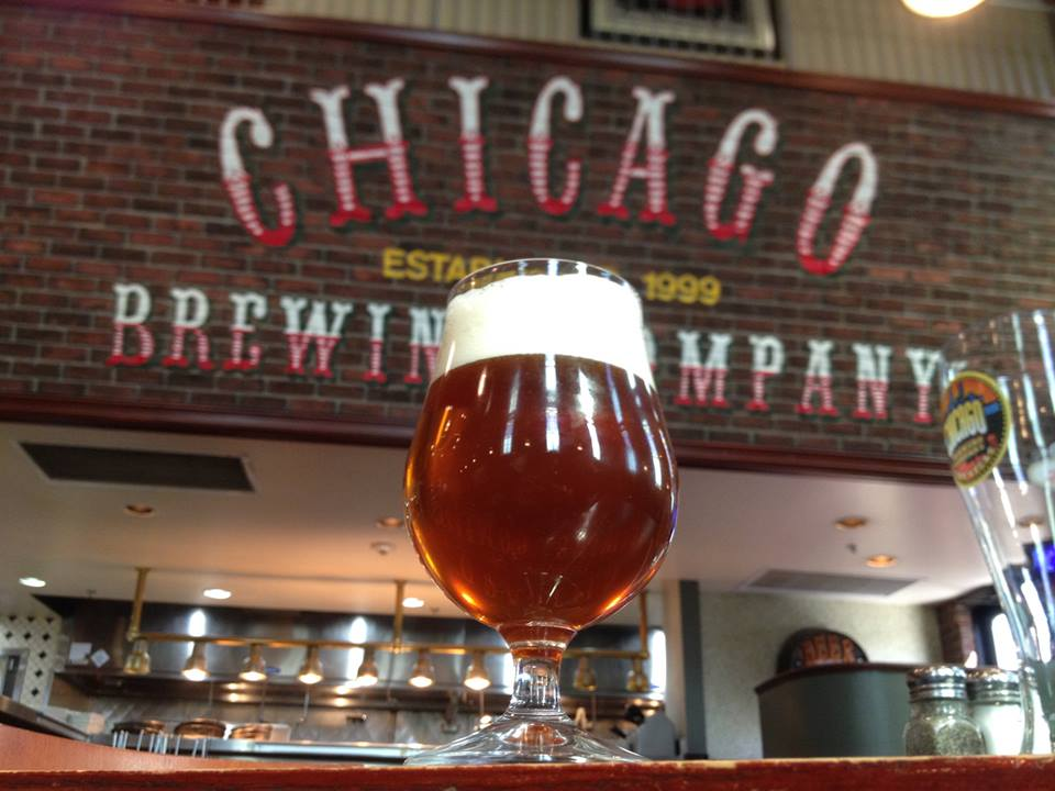 Behold. The chosen beer. *angelic noises* Photo courtesy of Chicago Brewing Company.