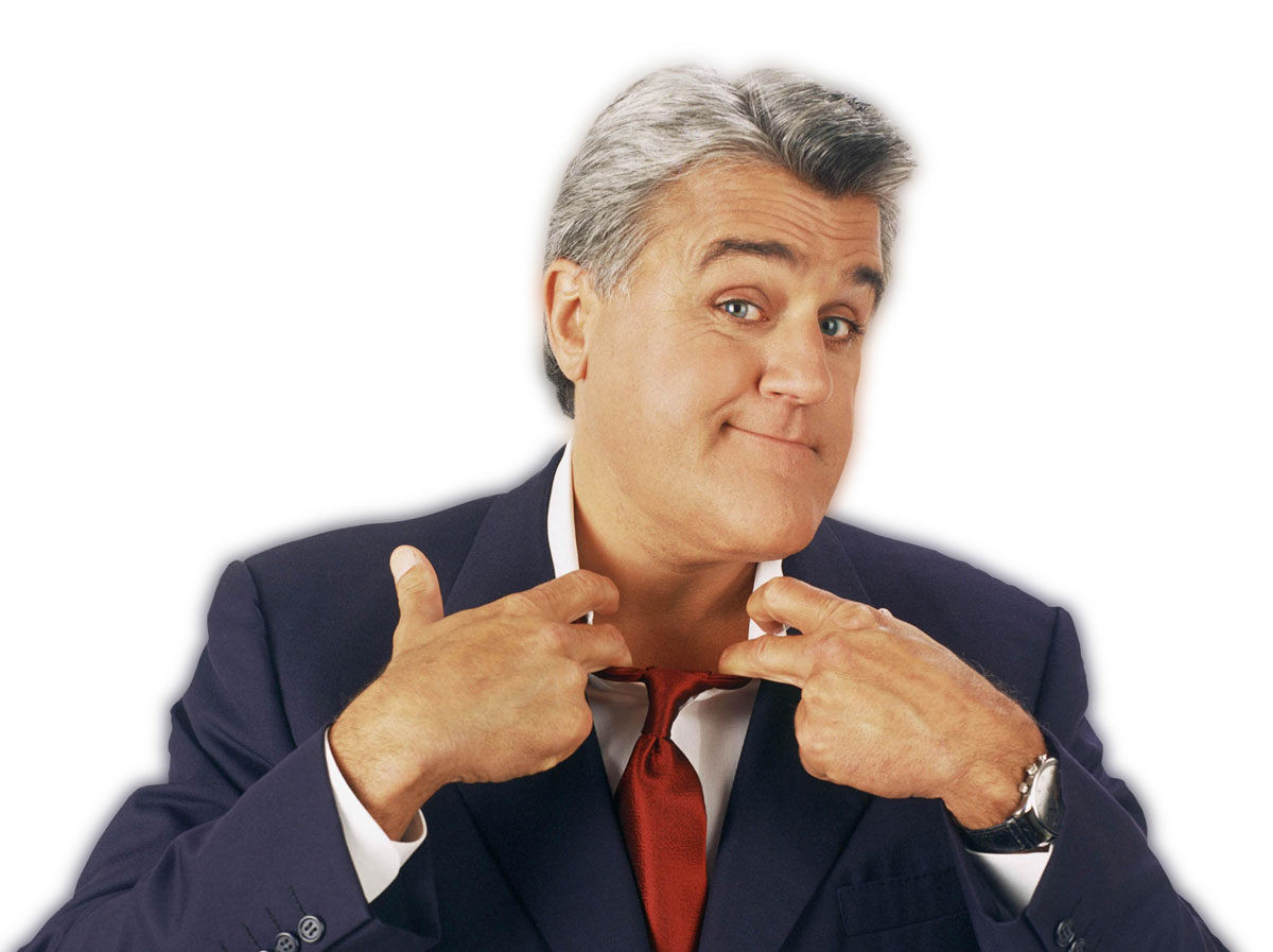 Jay Leno brings his stand-up act to The Mirage this weekend. Photo from Vegas.com