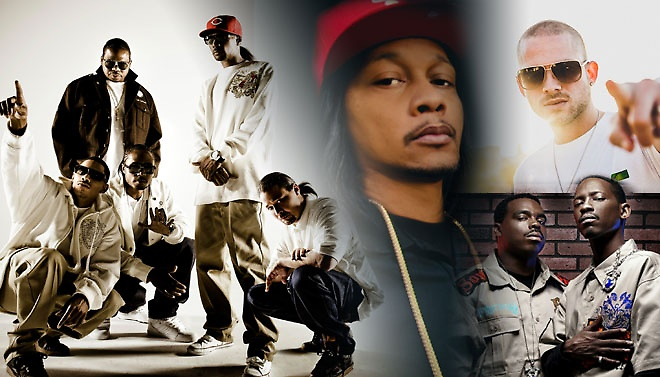 Bone Thugs-N-Harmony n all their bone thug glory. Photo courtesy of Bone Thugs-N-Harmony.
