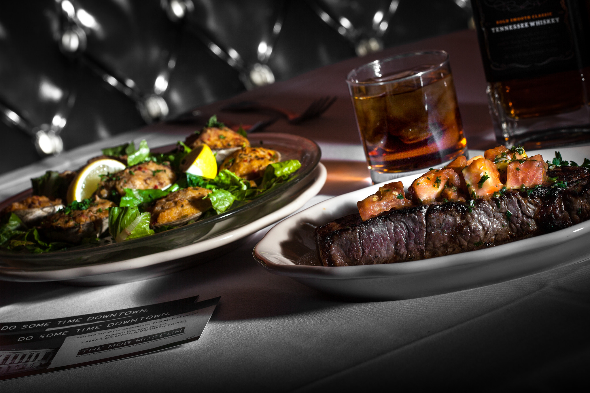 Dine like Sinatra at the Golden Steer