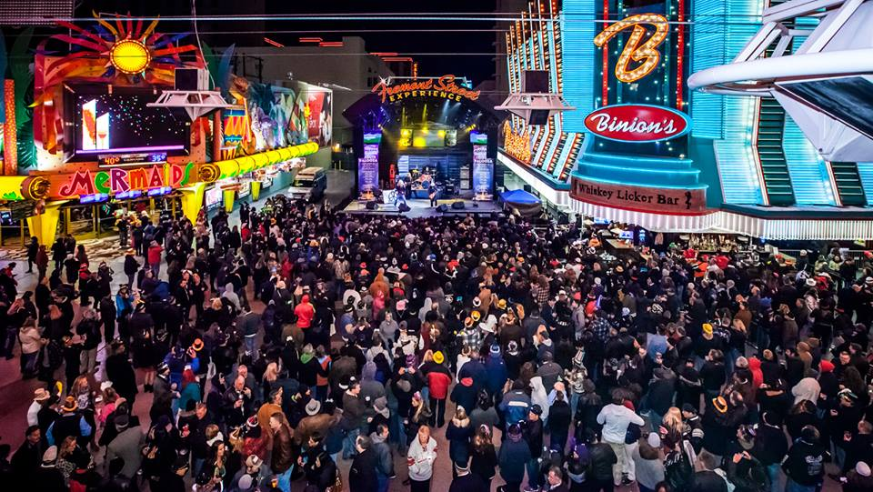 NYE at FSE 2014, and other abbreviations. Photo courtesy of Fremont Street Experience.