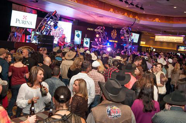 Gold Buckle Zone 2014. Photo courtesy of MGM Grand.