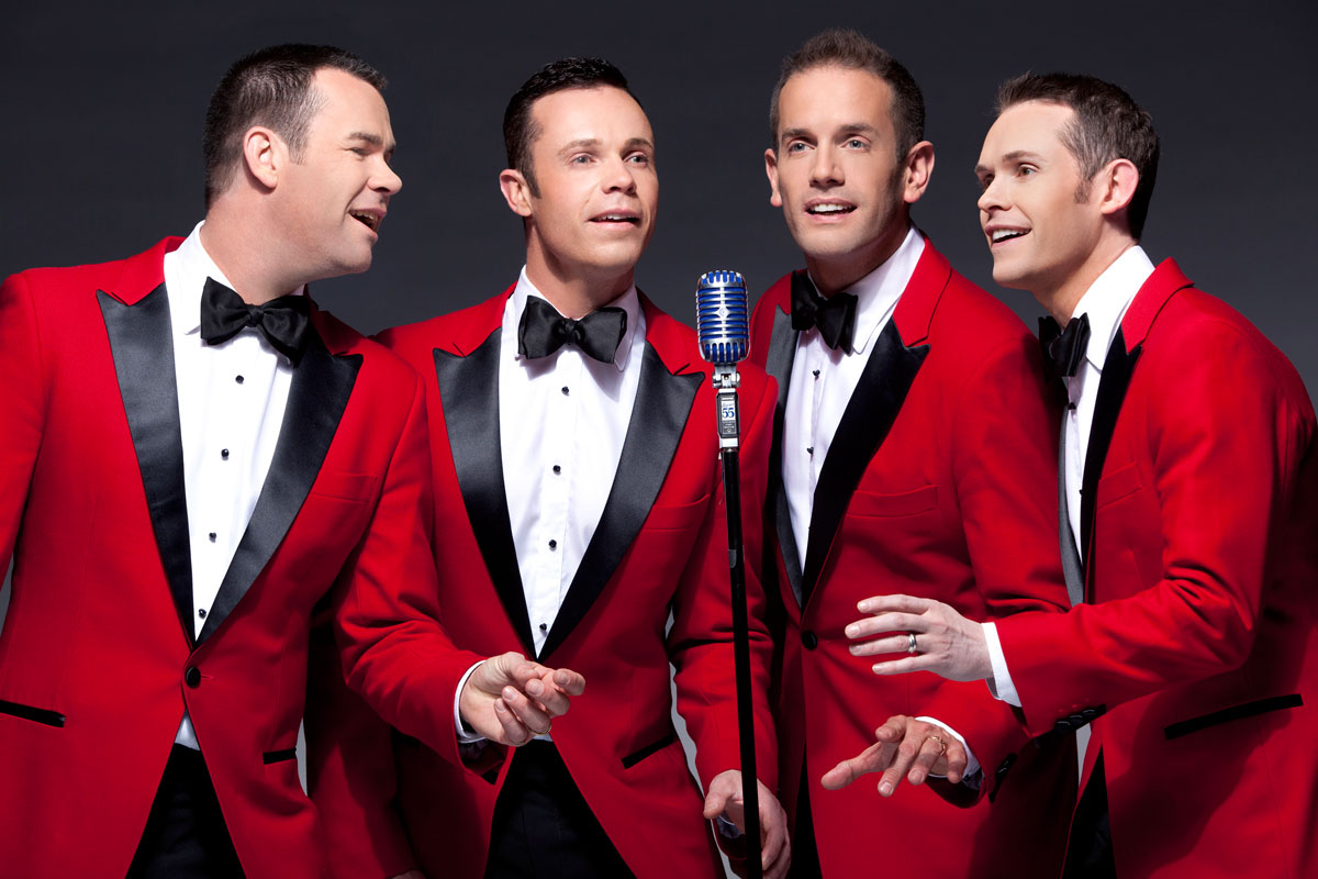 Human Nature's holiday show features Christmas classics and Motown favorites, photo courtesy of Human Nature