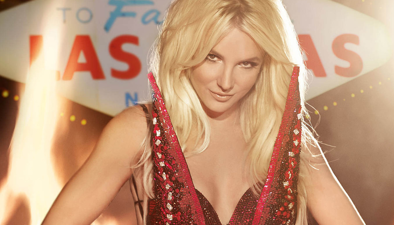 Pop princess Britney Spears sings all her hits at Planet Hollywood, photo courtesy of Vegas.com.
