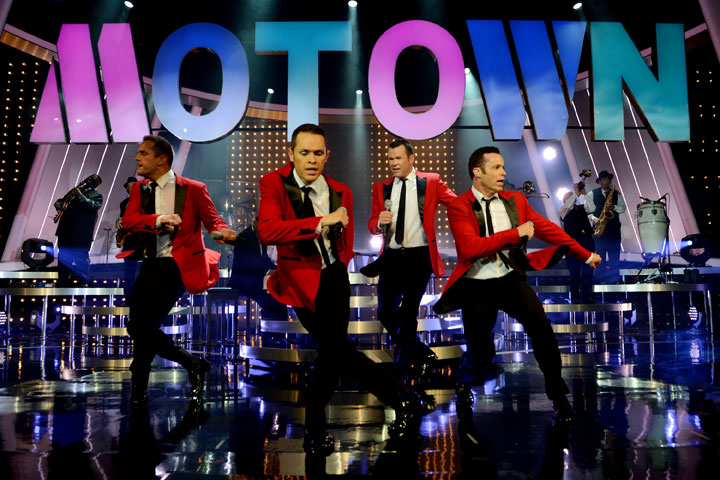 Human Nature's show features Motown favorites. Photo courtesy of Human Nature.