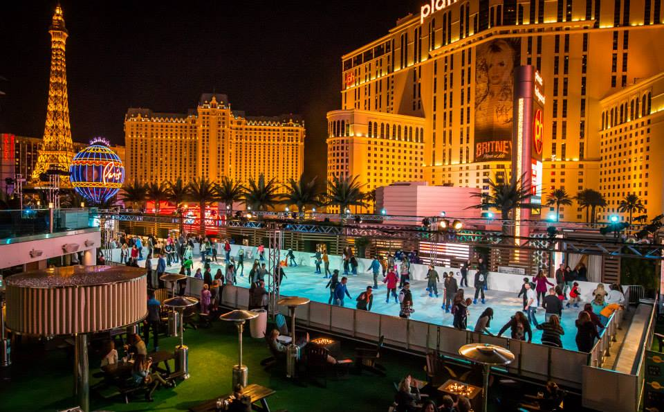 Just a beautiful pic of the Ice Rink and surrounding view. Photo courtesy of the Cosmopolitan of Las Vegas.