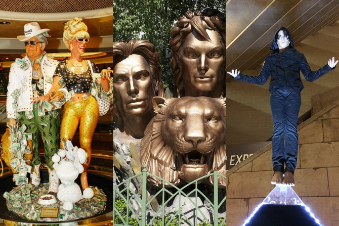 Weird & wacky: The statuesque side of Vegas