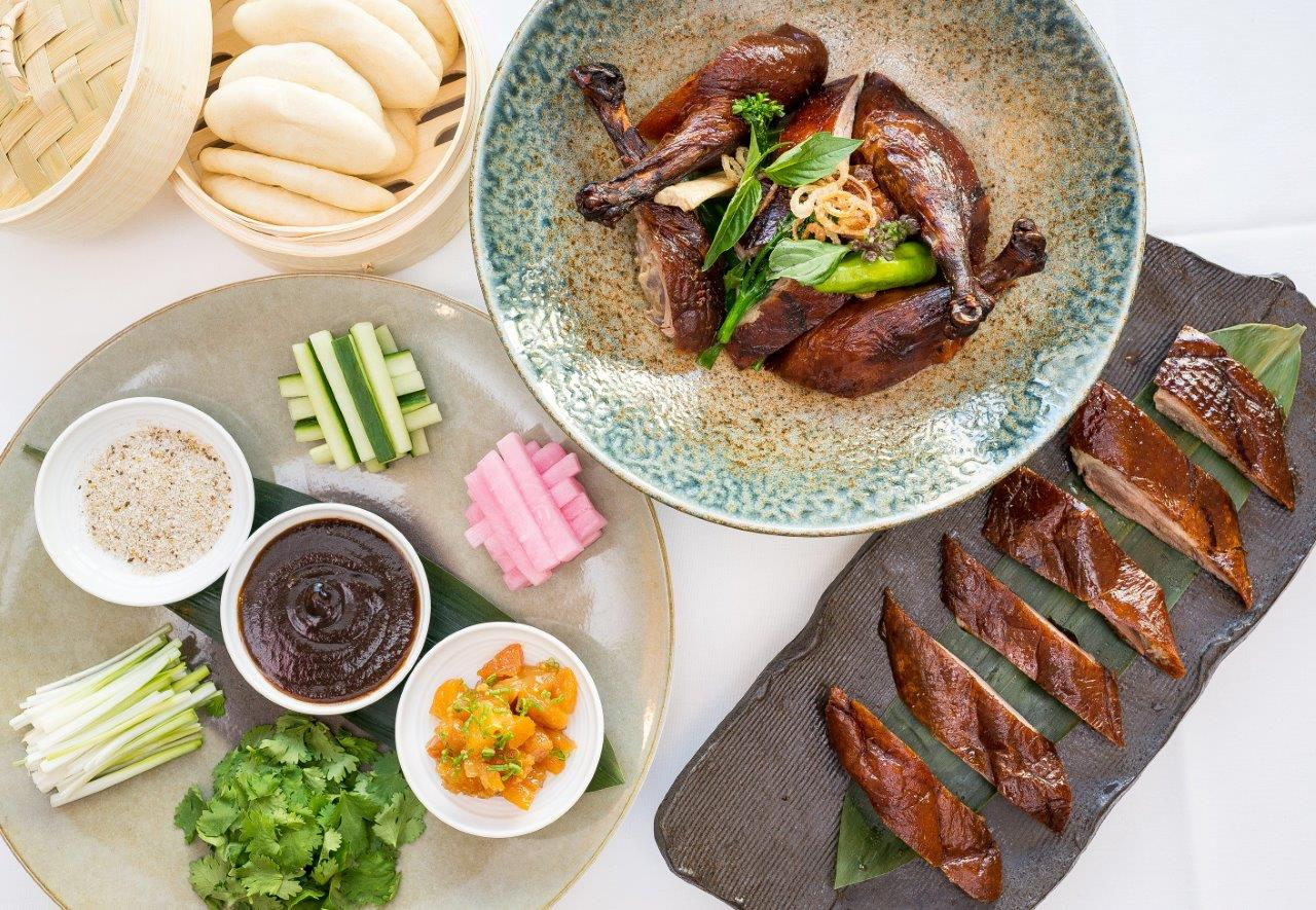 Peking duck at Spago. Photo courtesy of The Wolfgang Puck Fine Dining Group.