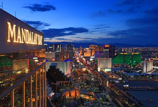 Bars and clubs with unbeatable Las Vegas views