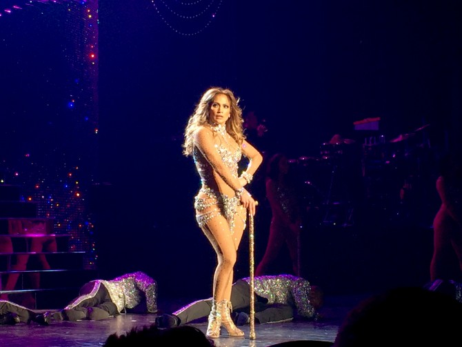 J. Lo absolutely dominates opening performance of 'All I Have'