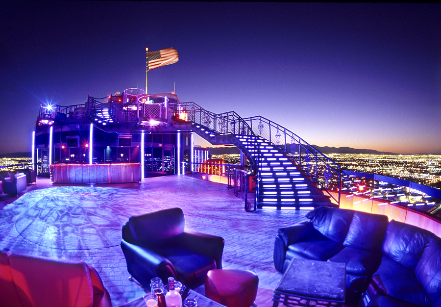 This view might actually be magic. Photo courtesy of VooDoo Rooftop Nightclub.