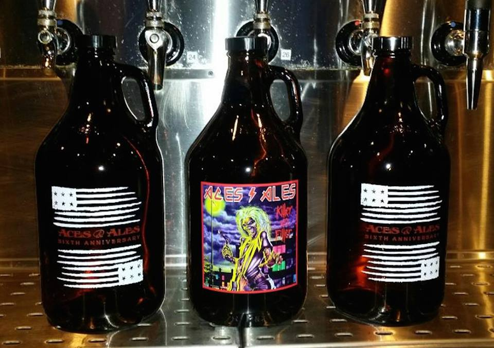 That's some badass beer. Photo courtesy of Aces and Ales.
