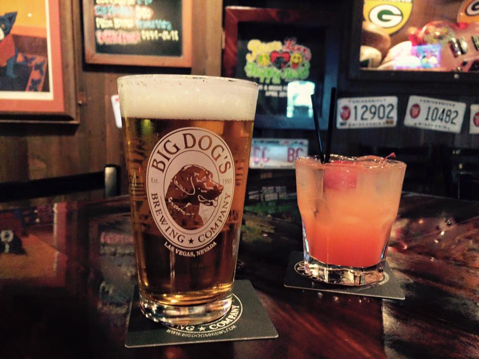 Try a pint. You won't be disappointed. Photo courtesy of Big Dog's.