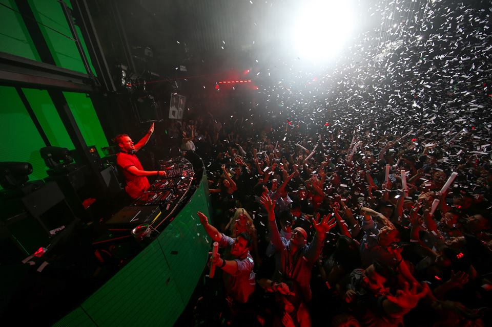 Dash Berlin at Marquee. Photo courtesy of Marquee Nightclub.