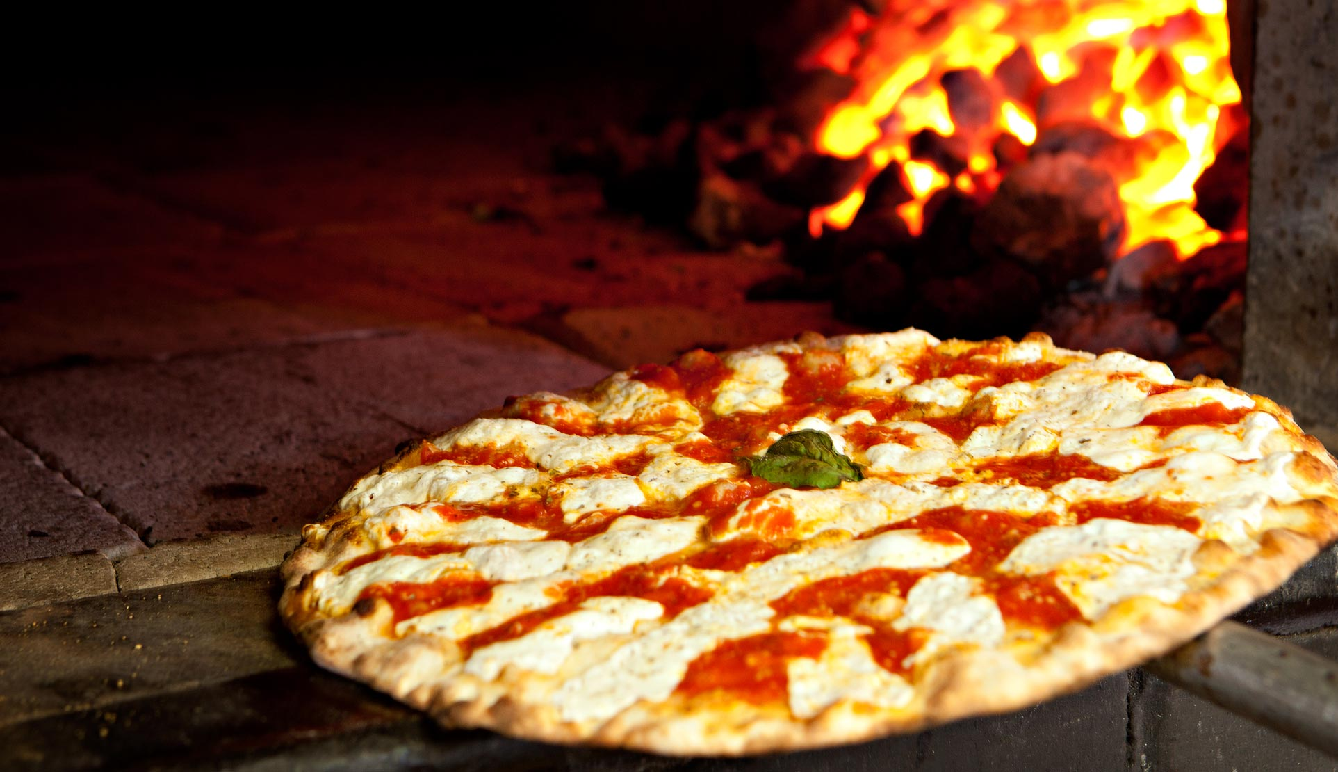 Grimaldi's coal brick-oven pizza, photo courtesy of Grimaldi's.