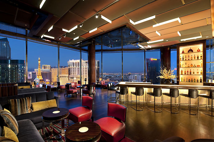 The view is only part of the appeal here. Photo courtesy of Mandarin Bar.