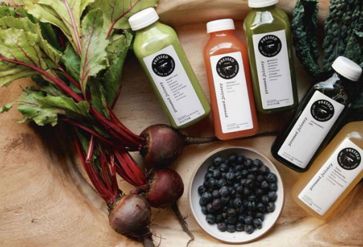 Pressed Juicery, photo courtesy of Aria.