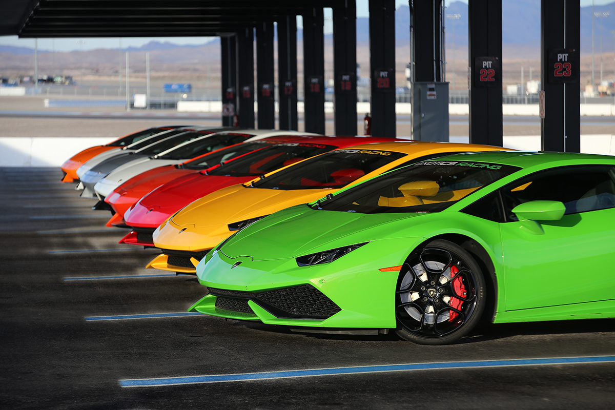 The only time you'll look in every color. Photo courtesy of Exotics Racing