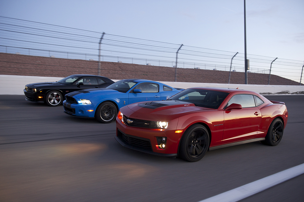 American Muscle at it's finest. Photo courtesy of Richard Petty's American Muscle Car Challenge.