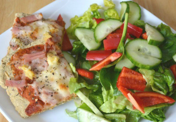 Hawaiian-Pizza-with-Oat-Crust-Sugar-Free-Gluten-Free