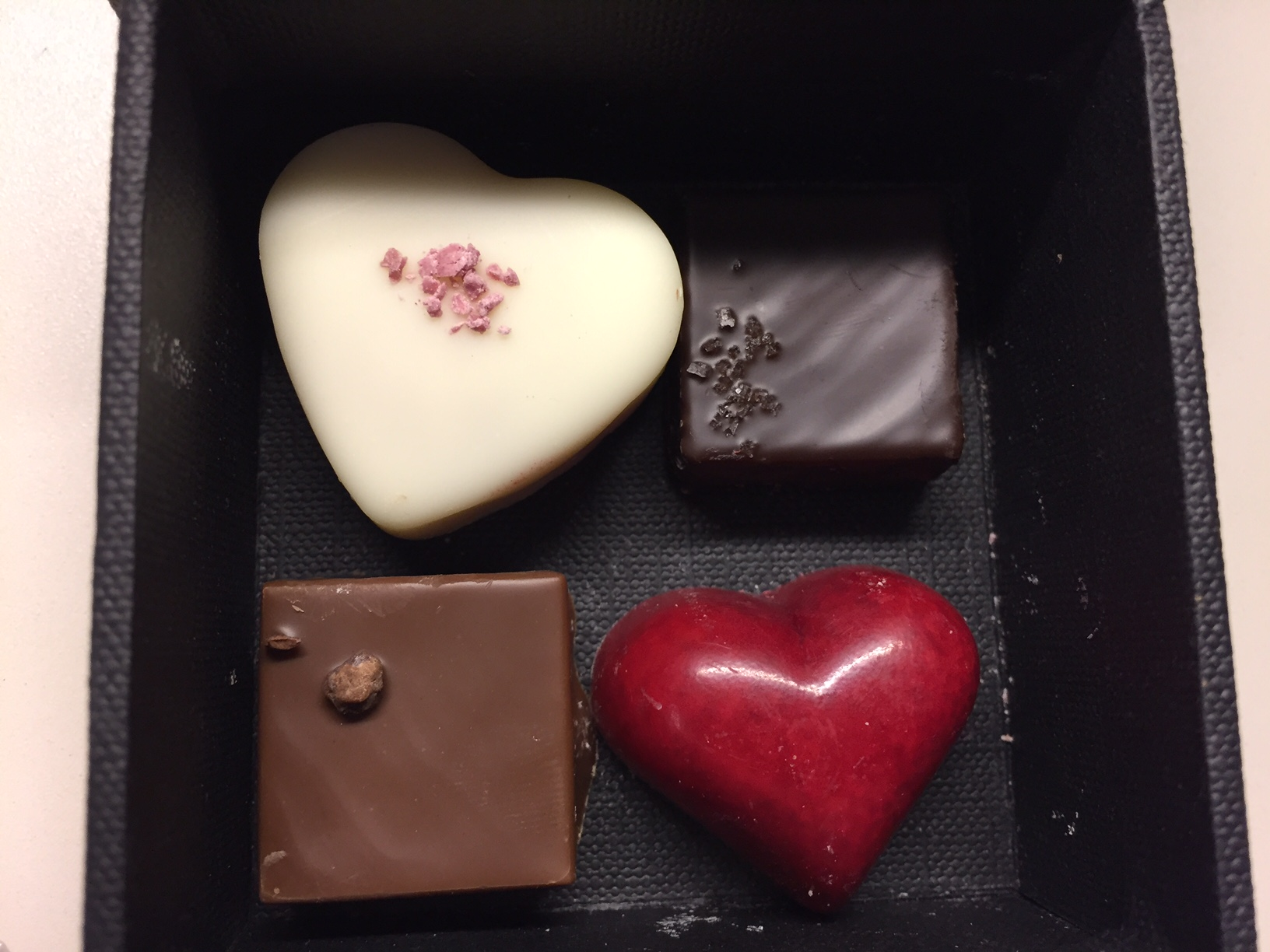 Chocolates available from Red Rock Hotel, photo by Kristine McKenzie