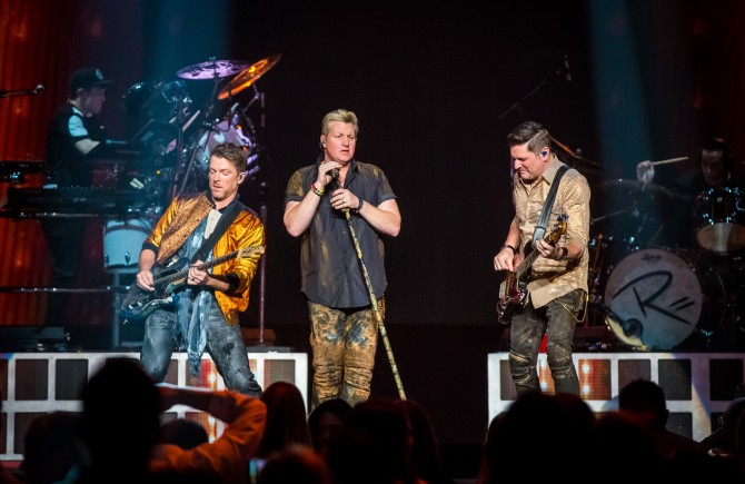 Rascal Flatts gets back to their 'Rhythm & Roots'