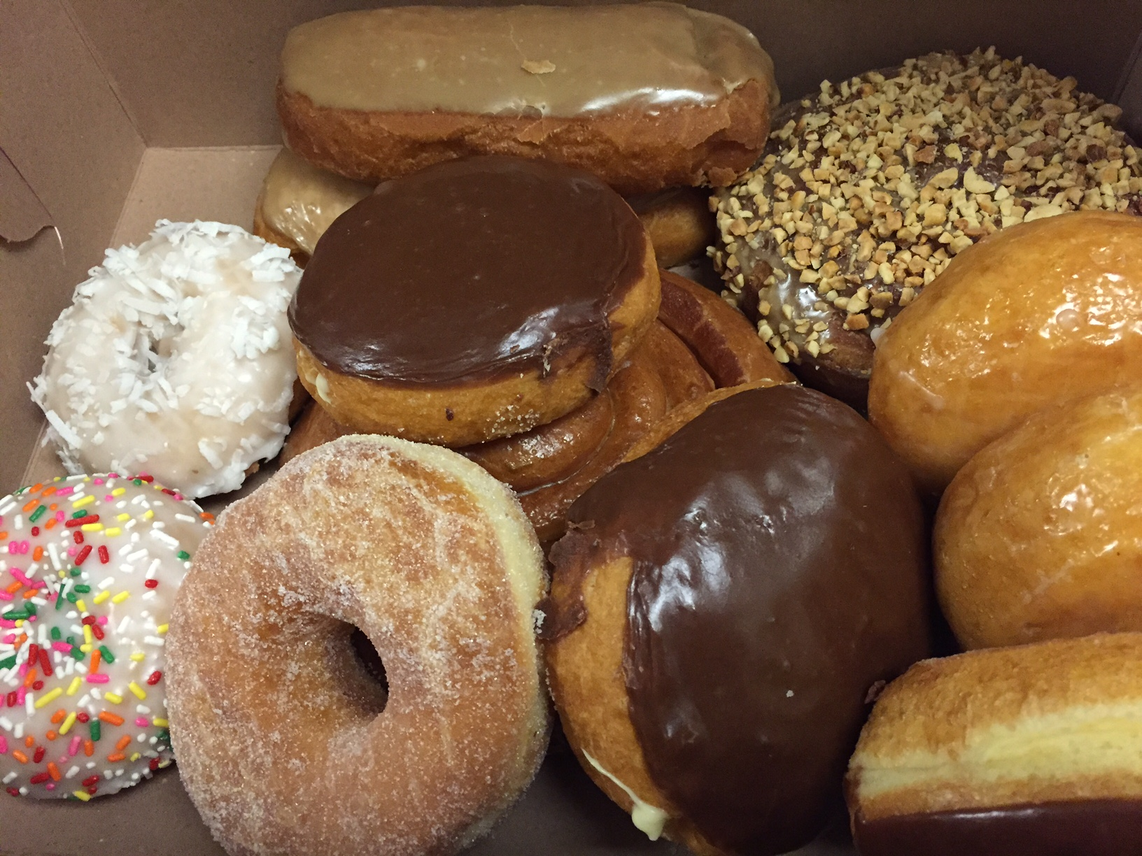 Ronald's Donuts offers an array of flavors, photo by Kristine McKenzie.
