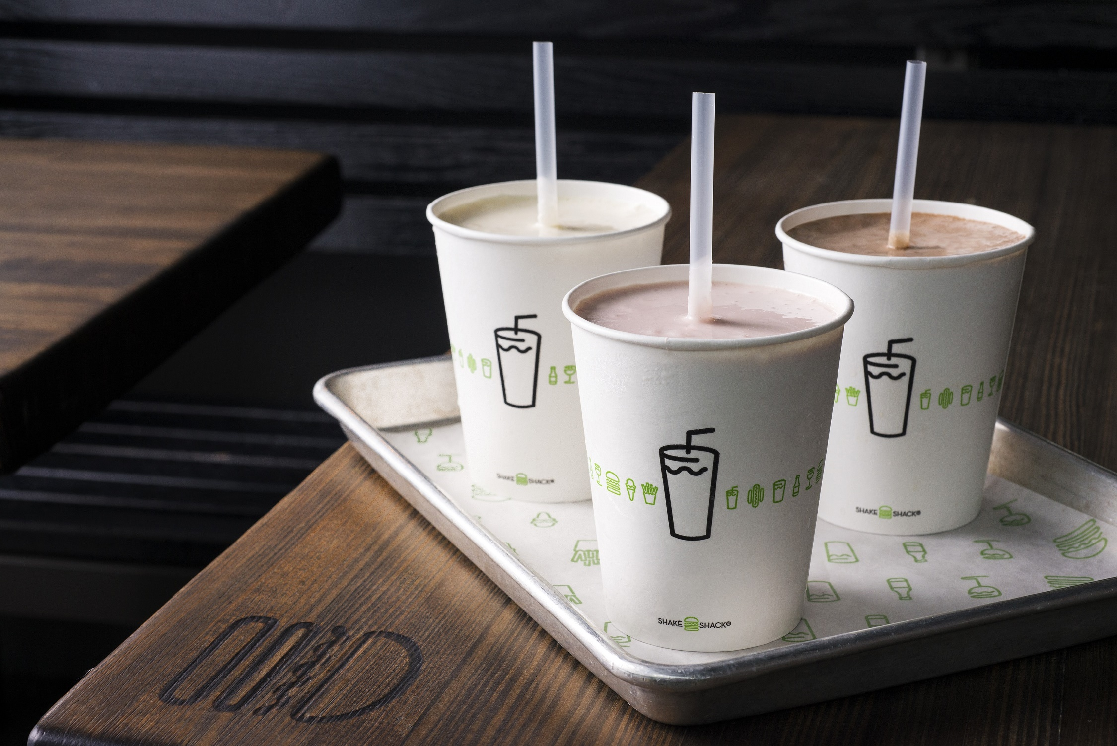 Bring a date and get a shake for Valentine's Day, photo courtesy of Shake Shack.